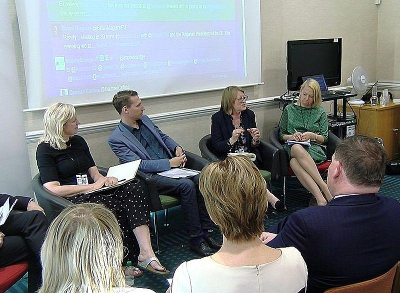 Diskusijā piedalījās atzīti britu un Latvijas eksperti, kā arī Latvijas vēstniece.