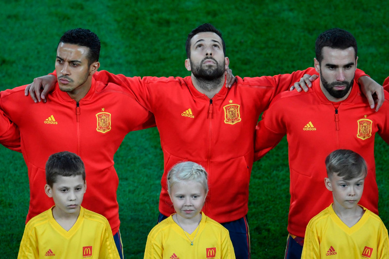 Spānijas futbola izlases spēlētāji
