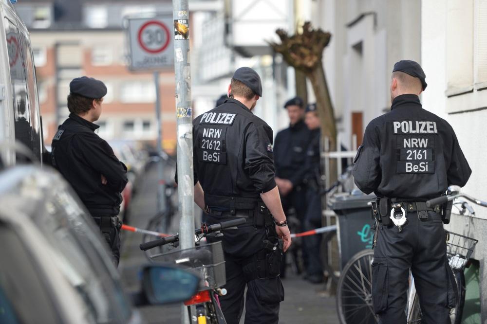 Vācijas policija.