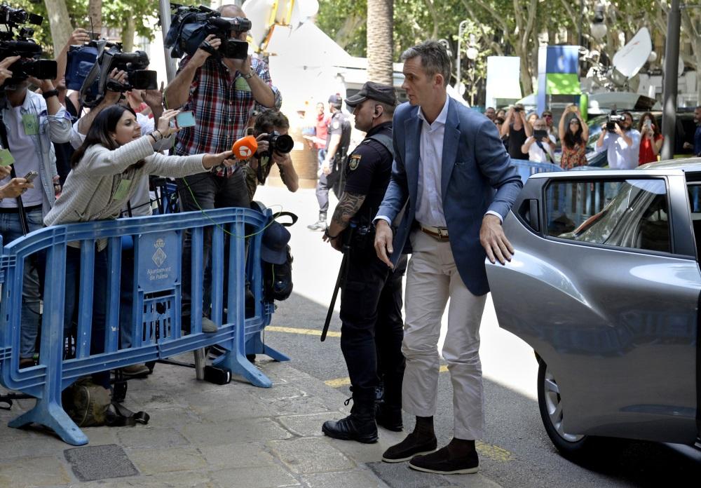 Spānijas karaļa Felipes VI svainim Inaki Urdangarinam piecās dienās jāierodas izciest piespriesto cietumsodu, 13.06.2018.