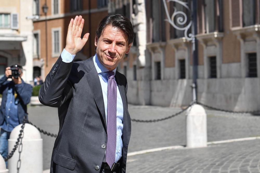 Itālijas premjerministrs Džuzepe Konte.