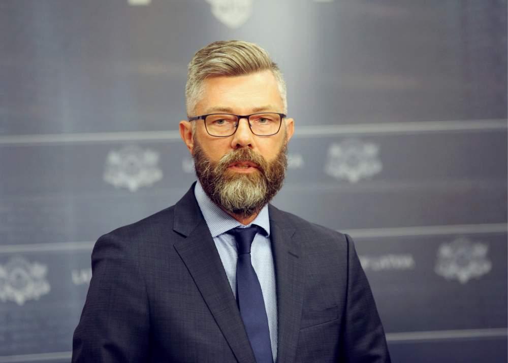 Valsts ieņēmumu dienesta ģenerāldirektora amata kandidāts Māris Skujiņš.