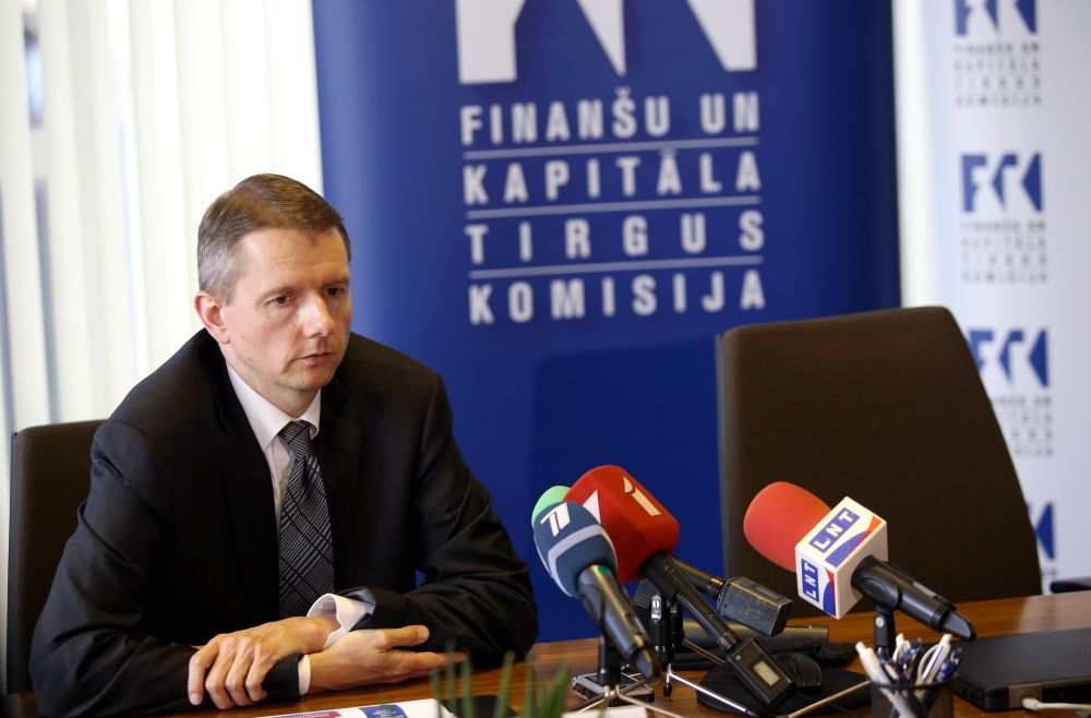 Finanšu un kapitāla tirgus komisijas (FKTK) priekšsēdētājs Pēters Putniņš