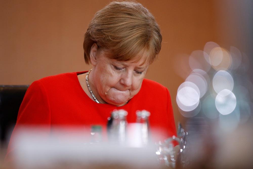 Vācijas kanclere Angela Merkele, 31.05.2018.