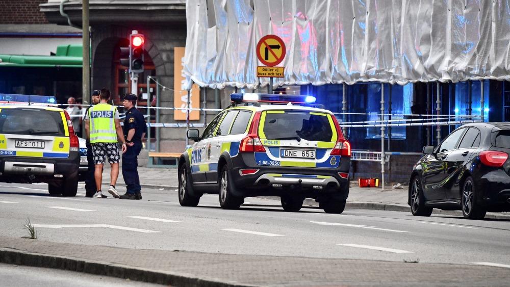 Malme, Zviedrija. Uz ielas notikusi apšaude.