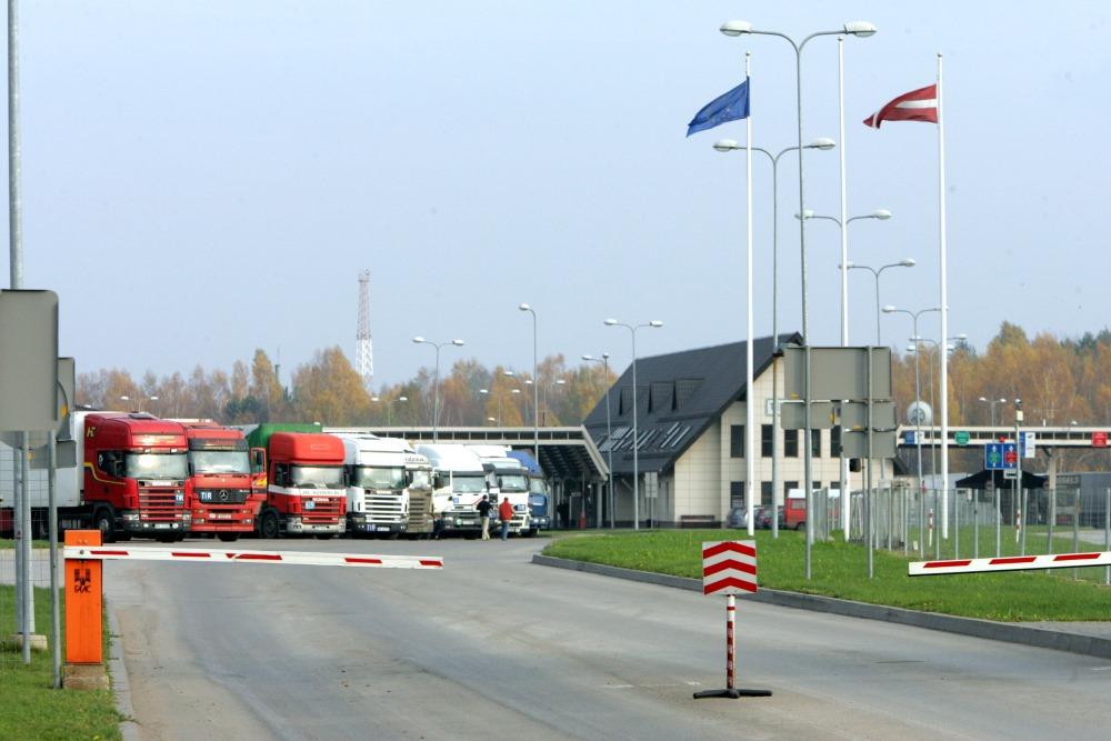 Terehovas robežkontroles punkts.
