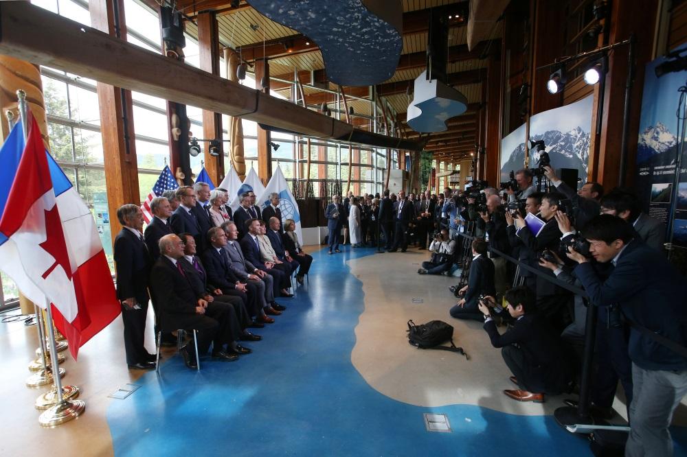 G7 valstu samits Kanādā, 02.06.2018.