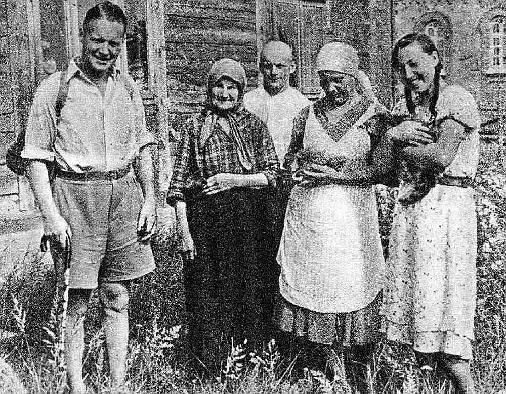 Vilhelms Munters (1898 – 1967) Latvijas apceļojuma laikā 1938. gadā.