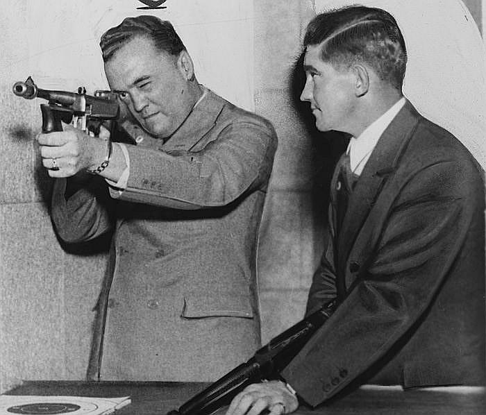 FIB šefs Edgars Hūvers 30. gados.
