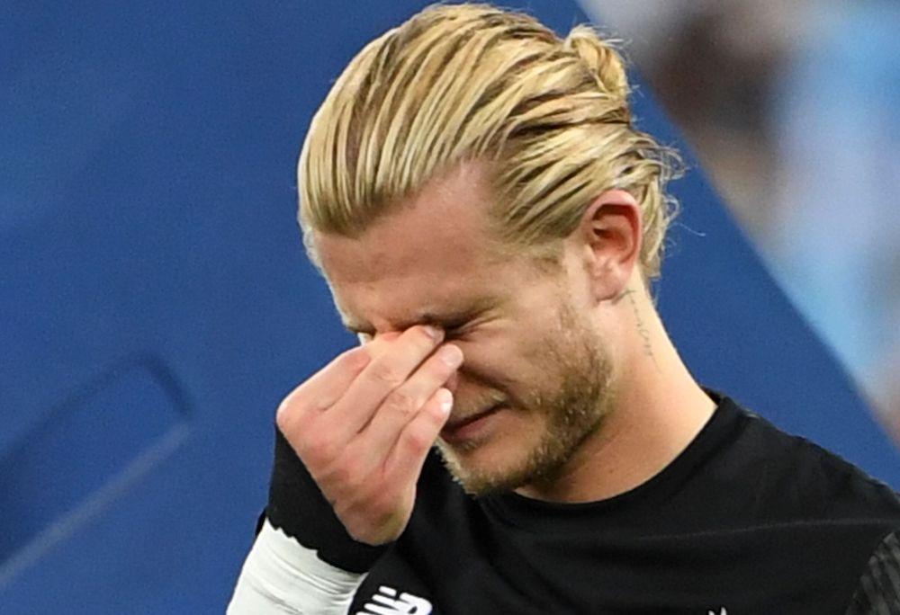 Loriss Kariuss pēc neveiksmīgās spēles. Foto – AFP/Scanpix/LETA