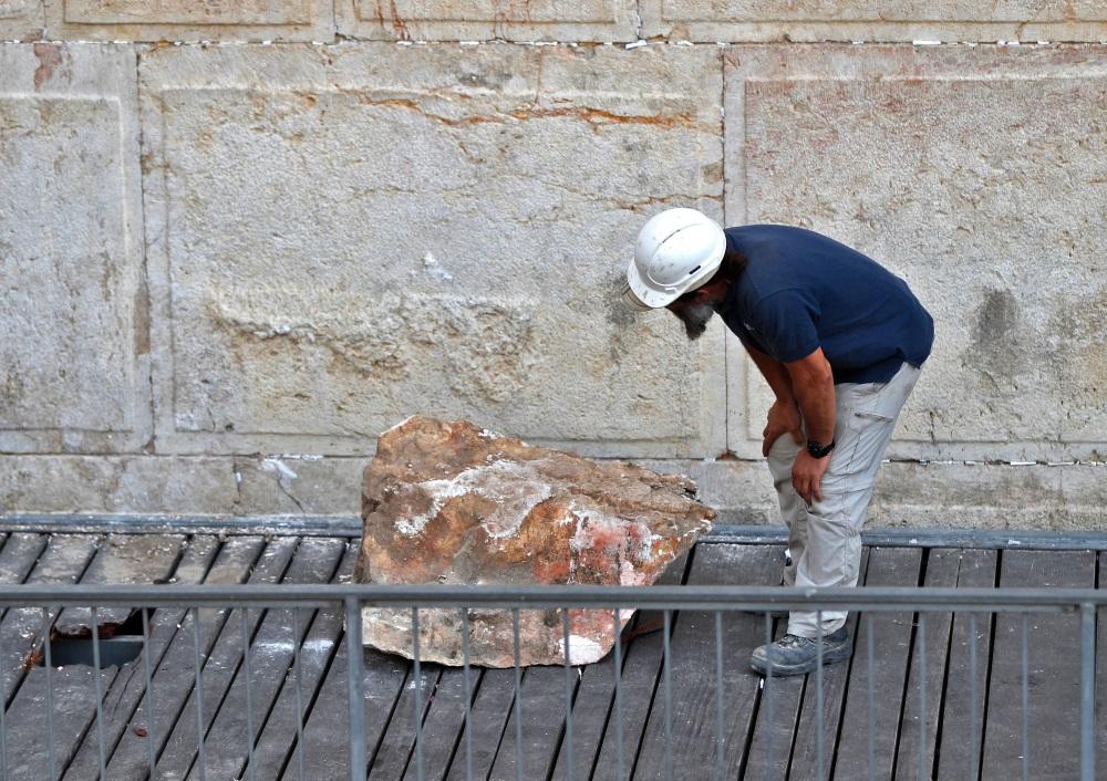 Raudu mūrim Izraēlā nepieciešama renovācija.