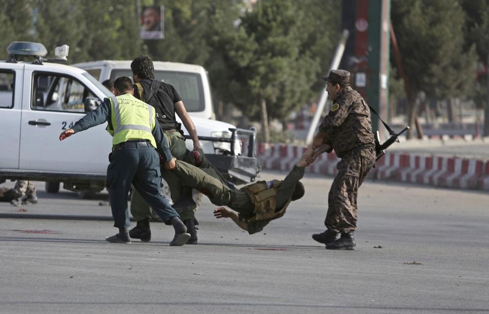 Sprādziens Kabulas lidostā,22.07.2018.
