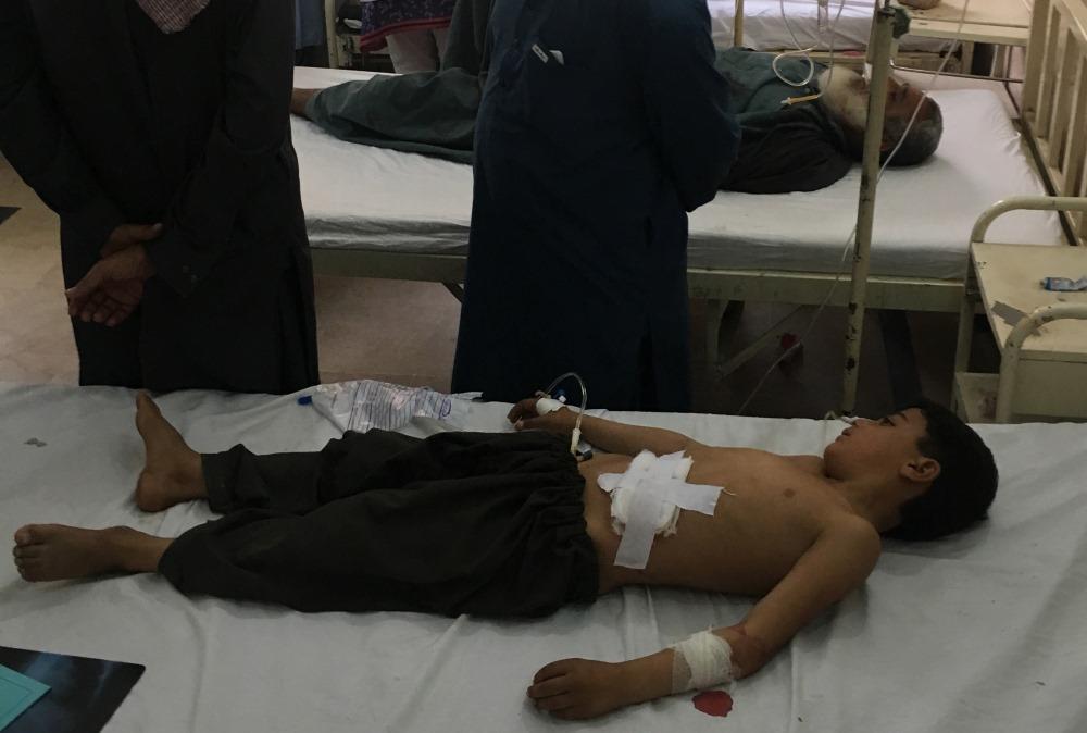 Sprādziens Pakistānā, 25.07.2018.