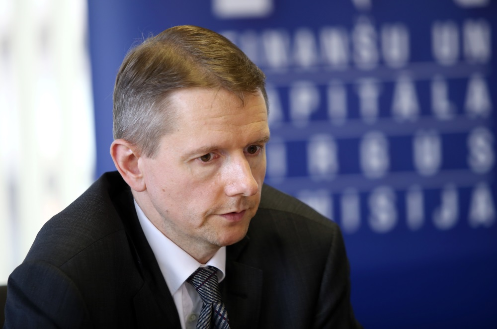 FKTK priekšsēdētājs Pēters Putniņš.