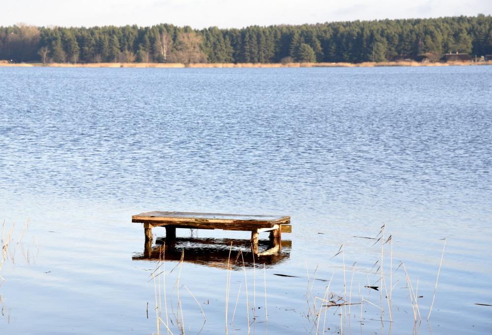 Ilustratīvs foto. Juglas ezers.