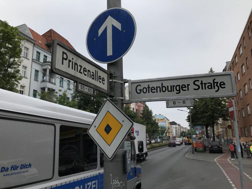 Vācijas galvaspilsēta Berlīne.