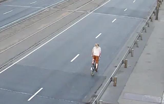 Ekrānuzņēmums no policijas video