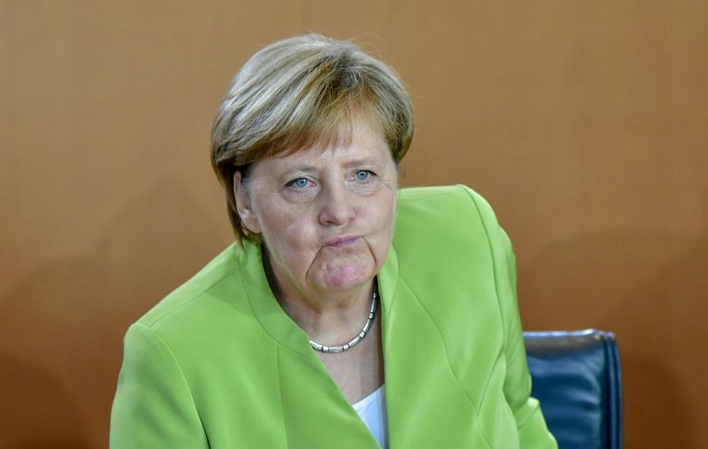 Vācijas kancele Angela Merkele, 29.08.2018.