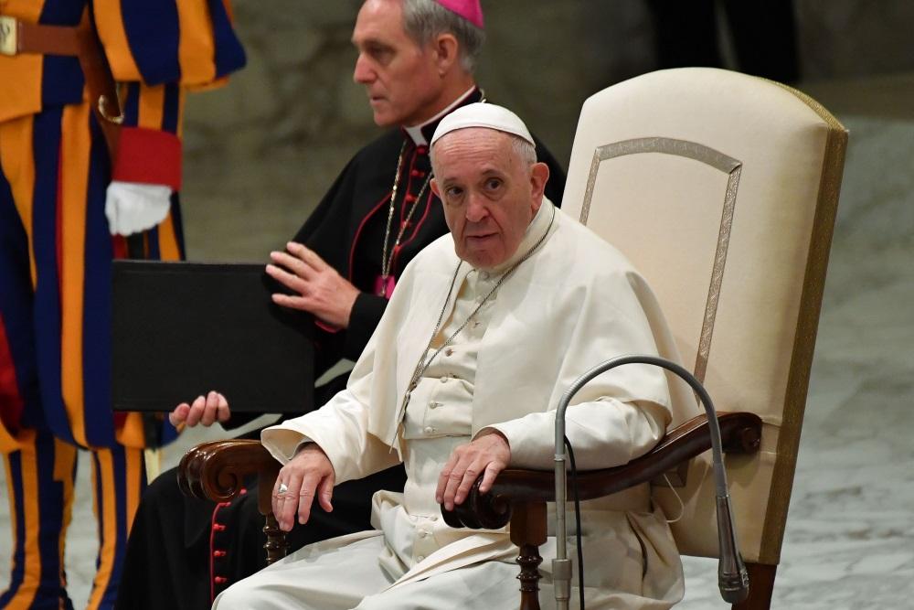 Pāvests Francisks.