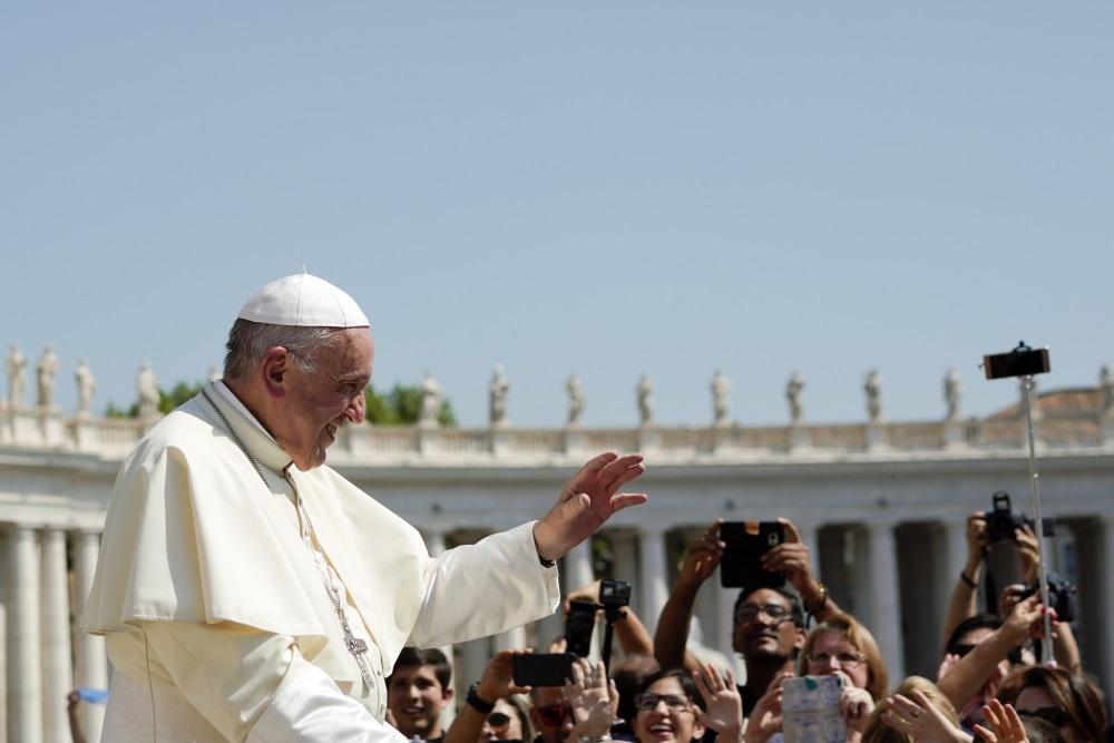 Pāvests Francisks, 29.08.2018.