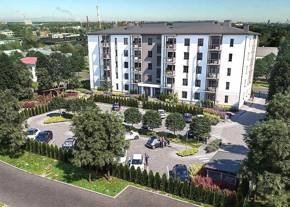"""Nekustamā īpašuma attīstītāja """"Bonava Latvija"""" jaunākā dzīvojamā māja Rīgā, Zasulauka ielā 13. Līdz gada beigām attīstītājs plāno pabeigt 250 jaunus dzīvokļus."""