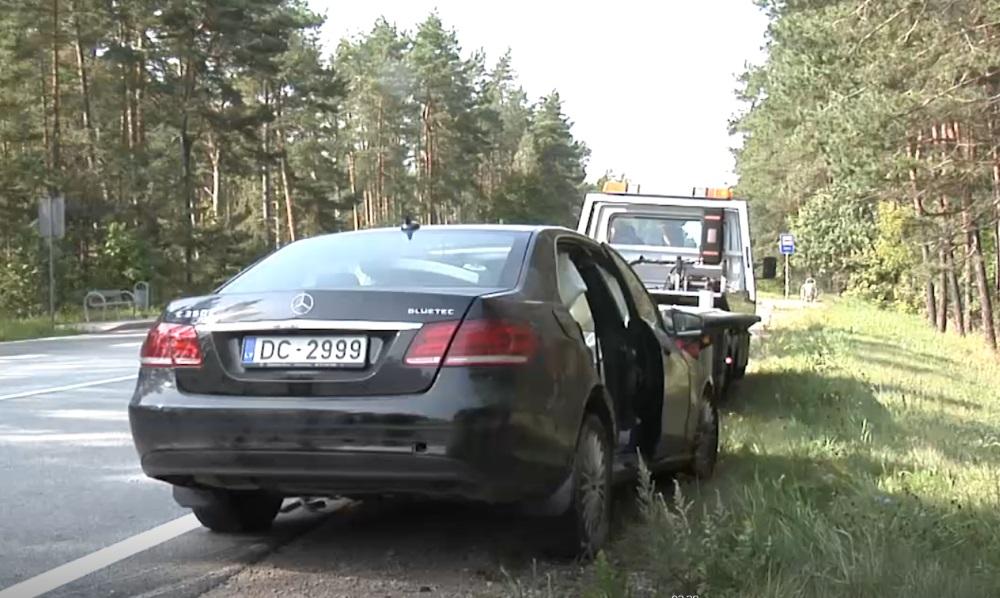Avārija uz Ventspils šosejas, 29.08.2018.