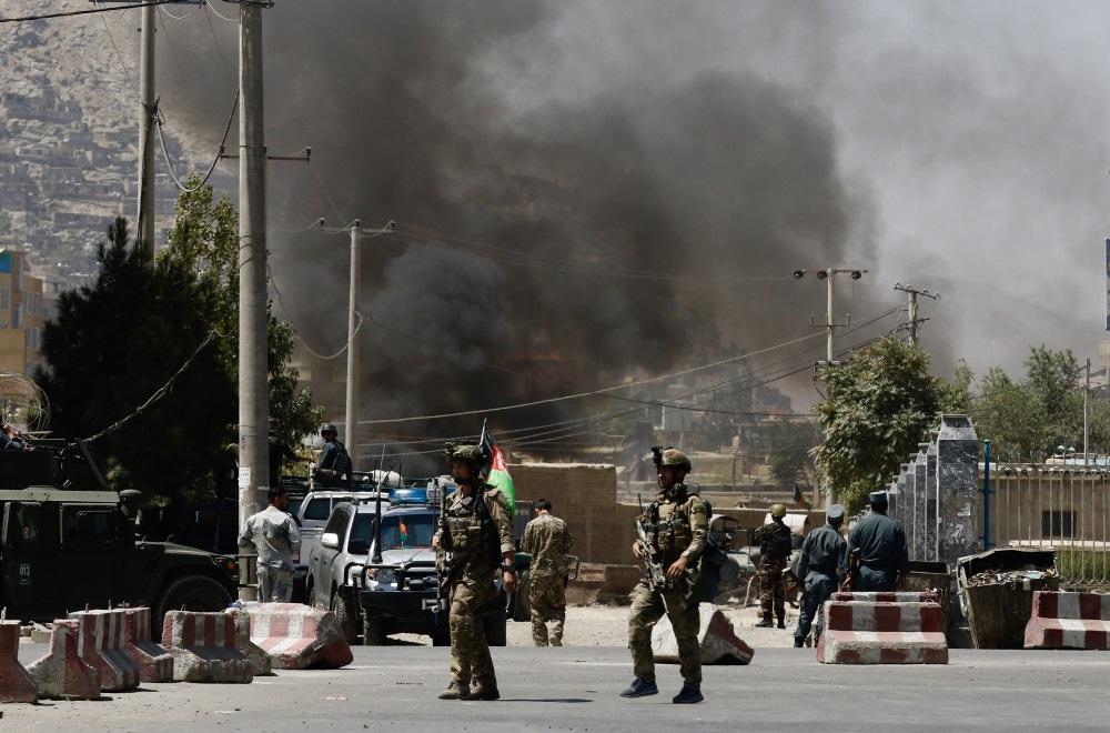 Kabula Afganistānā, 21.08.2018.