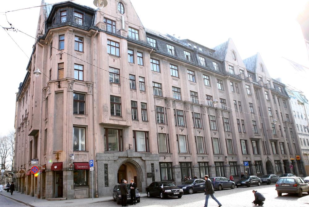 Izglītības un zinātnes ministrijas ēka. Foto – LETA