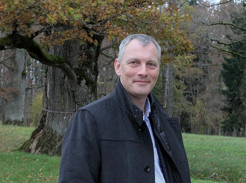 """Akciju sabiedrības """"Latvijas valsts meži"""" prezidents Roberts Strīpnieks."""