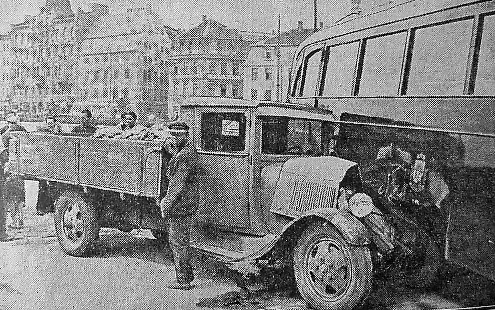 Avārija 30. gados Rīgā.