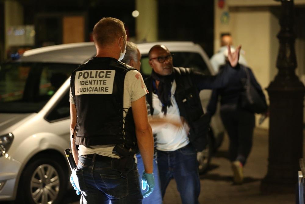 Parīzē notikcis uzbrukums ar nazi, ievainoti 7 cilvēki, 10.09.2018.