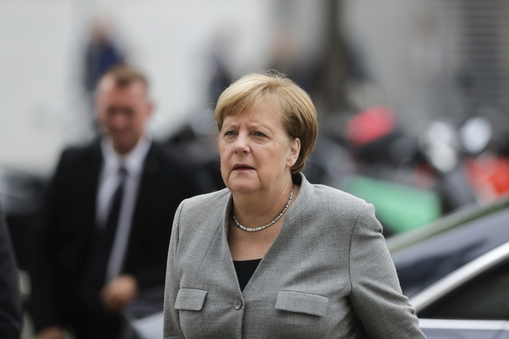 Vācijas kanclere Angela Merkele, 13.09.2018.