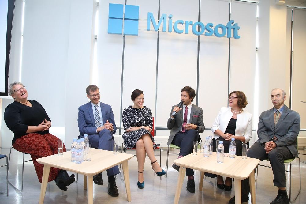 """Latvijas Universitātes un """"Microsoft"""""""" Inovāciju Centrs  LUMIC"""