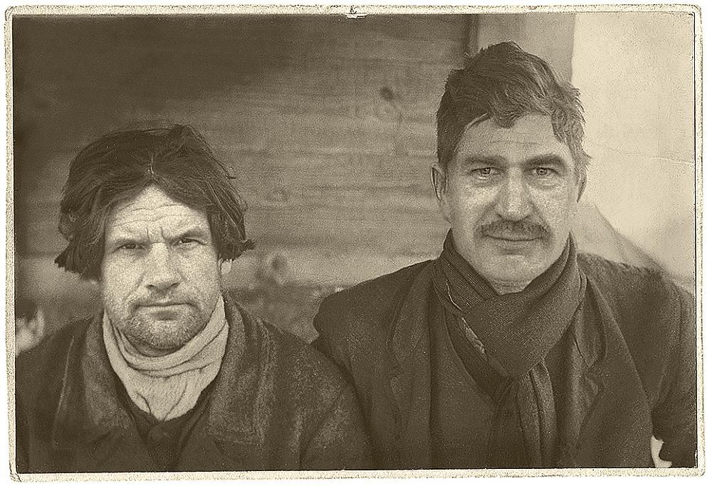 Vilis Daudziņš un Ģirts Krūmiņš.