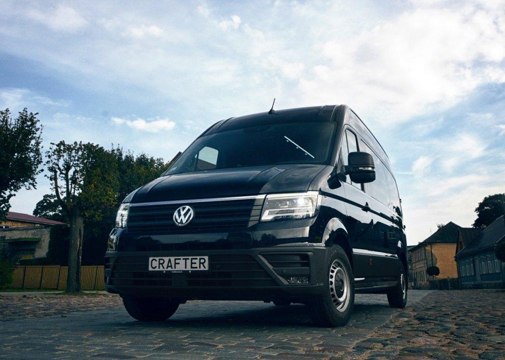 """Latvijā pārbūvētais """"Volkswagen Crafter"""""""