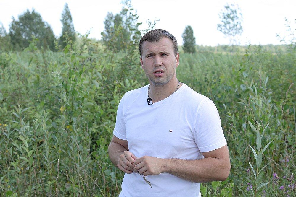 """Konkursa """"Sakoptākais mežs"""" dalībnieks Rūdolfs Rusiņš: """"Tā kā man pieder jaunaudzes, šobrīd jāiegulda. Taču plantāciju mežos plānoju divdesmit gadu apriti."""""""