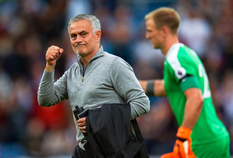 "Mančestras ""United"" galvenais treneris Žozē Mourinju."