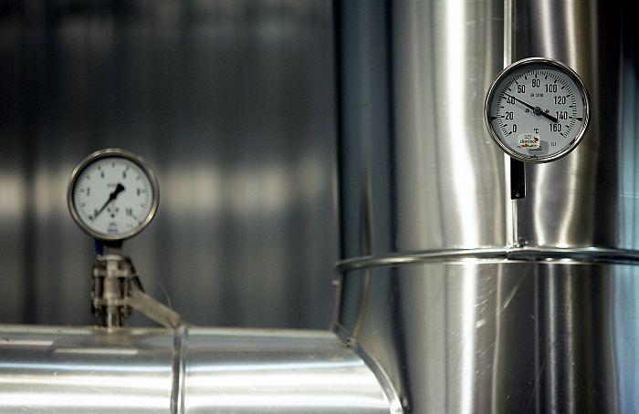 """Atklāta enerģētikas uzņēmuma """"Fortum"""" lielākā un modernākā biomasas koģenerācijas stacija Latvijā."""