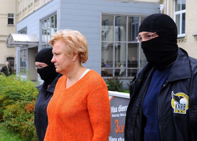 Ārija Stabiņa pirms vairākiem gadiem Latvijā. 2013. gadā