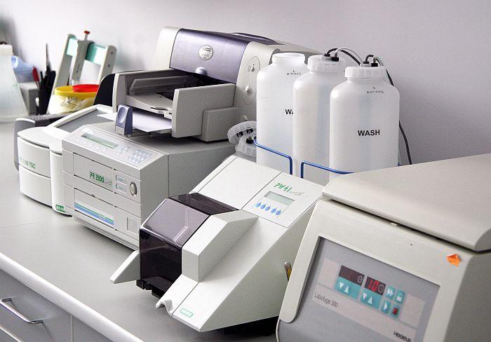 Latvijas Infektoloģijas centra HIV/AIDS diagnostikas laboratorija.