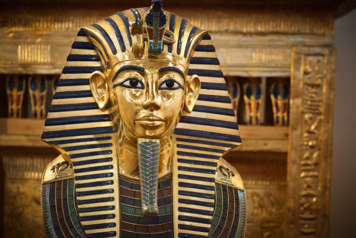 Tutanhamona zelta maska Londonas izstādē nebūs apskatāma.