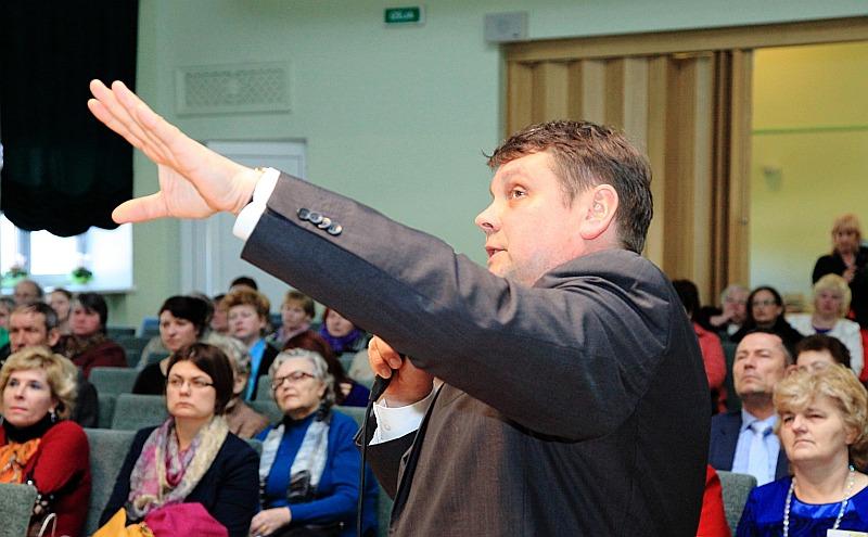 Preiļu novada domes priekšsēdētājs Aldis Adamovičs.