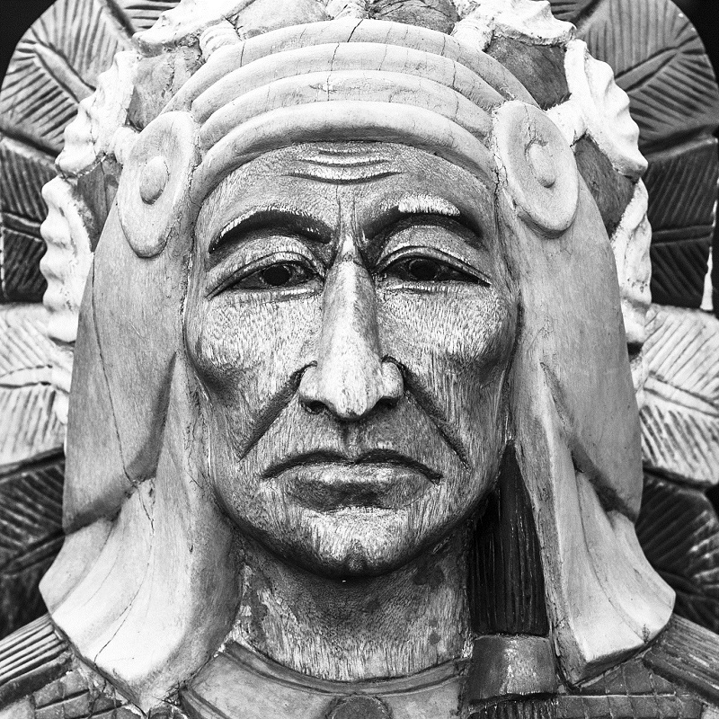 Apaches native american indian head, chief, vintage style