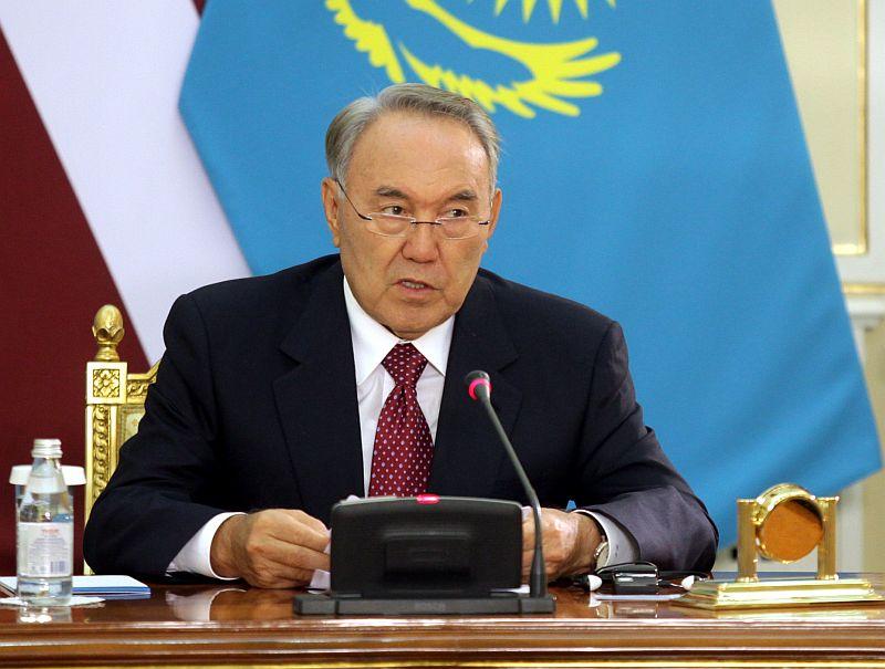Kazahstānas prezidents Nursultans Nazarbajevs