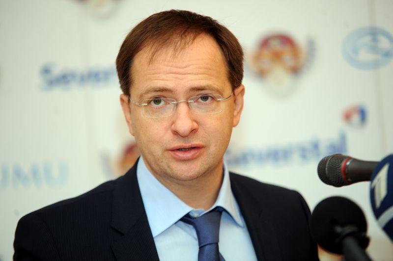 Krievijas Federācijas kultūras ministrs Vladimirs Medinskis