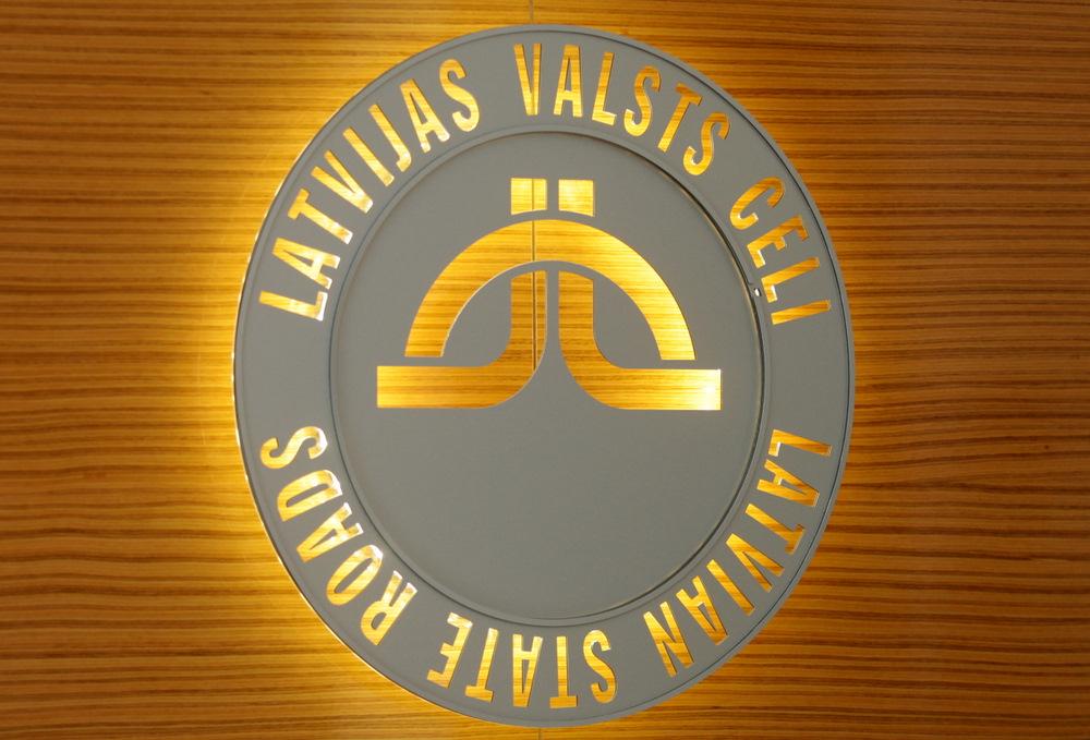"""VAS """"Latvijas Valsts ceļi"""" logo."""