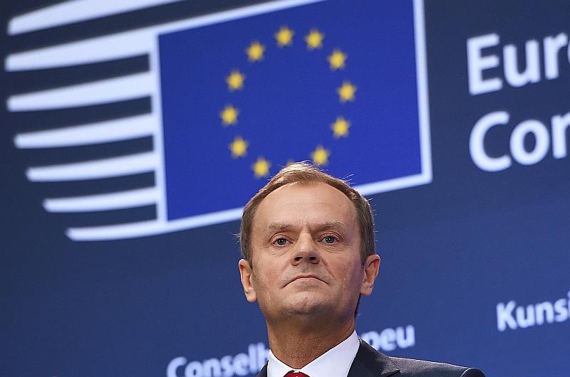 Eiropas Savienības Padomes priekšsēdētājs Donalds Tusks.