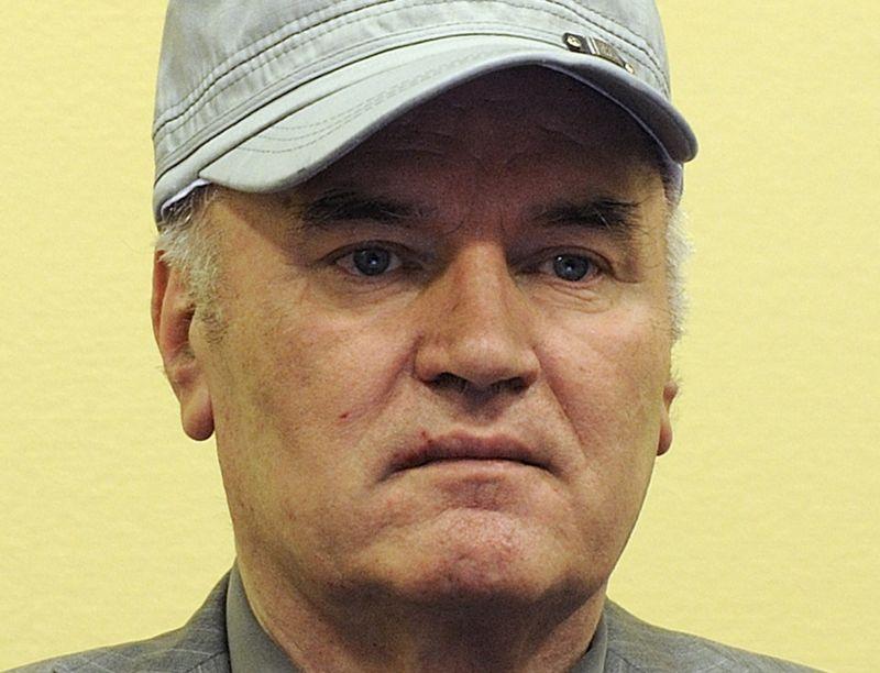Bijušais Bosnijas serbu militārais komandieris Ratko Mladičs