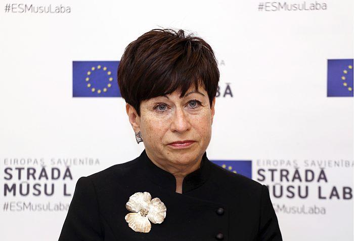 Eiropas Komisijas pārstāvniecības Latvijā vadītāja Inna Šteinbuka.