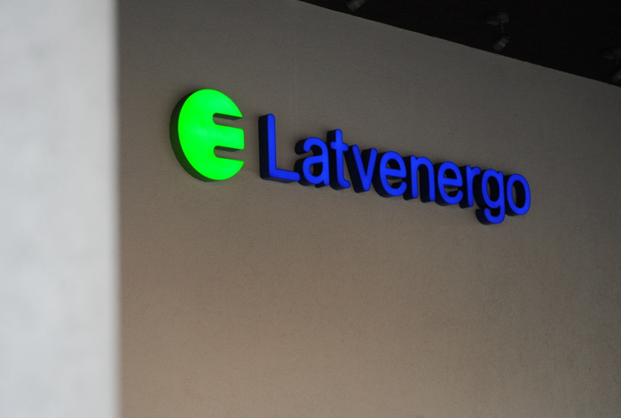 "AS ""Latvenergo"" logo."